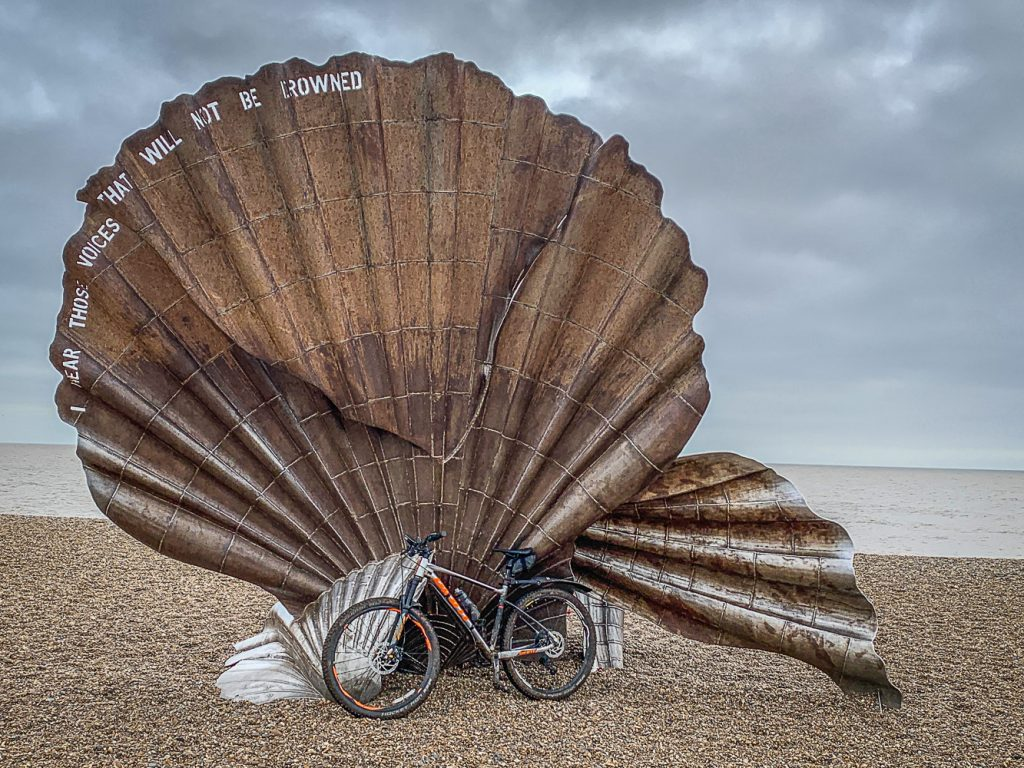 Aldeburgh Shell on the Beach